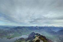 Summer landscape in Alps — Stock Photo