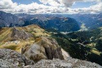 Paysage de montagne italiennes du Nord — Photo de stock