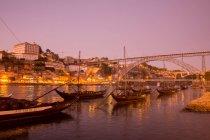 Paisaje urbano de ciudad vieja de Porto - foto de stock