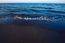 Seashore view in sunlight — Stock Photo