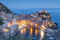 Panorama with rooftops of center Naples, Italy — Stock Photo