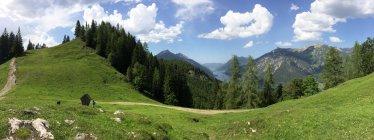 Paysage des Alpes autrichiennes — Photo de stock