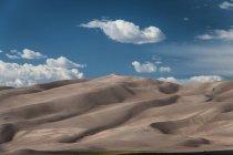 Landscape with dessert terrain — Stock Photo