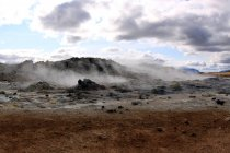 Namafjall geothermischen Feld — Stockfoto