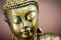 Древняя бронзовая статуя Будды — стоковое фото