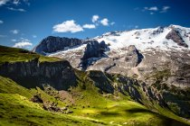 Dolomites at sunny day, Alps — Stock Photo