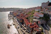 Paysage de ville vieux Porto — Photo de stock