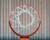 Basketball-Korb-Untersicht — Stockfoto