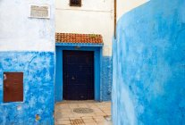 View of building in old moroccan town — Stock Photo