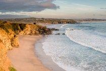 Видом на узбережжя Cornwall — стокове фото
