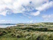 Вид побережья Корнуолла — стоковое фото