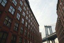 Manhattan Bridge, New York — Stock Photo