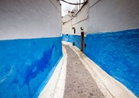 View of street in old moroccan town — Stock Photo