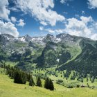 Mountains scenery in summer — Stock Photo