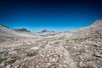 Красивый горный хребет пейзаж — стоковое фото