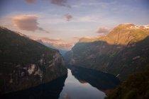 Geirangerfjord, Norvège Sunnmore région — Photo de stock