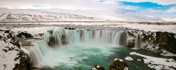 View of Waterfall Godafoss — Stock Photo