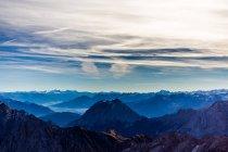 Paisagem de montanhas alpinas — Fotografia de Stock