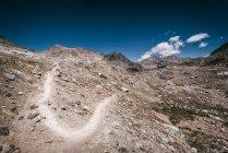 Красивий гірський масив краєвид — стокове фото