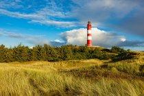 Szene mit Leuchtturm Blick — Stockfoto