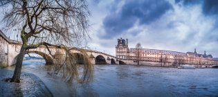 Old town view and bridge — Stock Photo