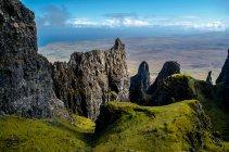 Beleza natural da ilha de skye — Fotografia de Stock