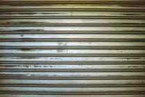 Tapparella in legno invecchiato — Foto stock