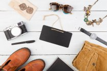 Set of cool woman stuff — Stock Photo