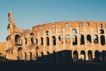 Colosseum ruins in Rome — Stock Photo