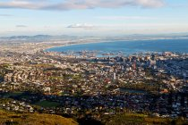 Cape town city skyline — Stock Photo