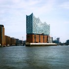 Elbe philharmonic hall, Port of Hamburg — Stock Photo