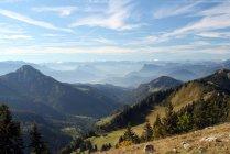 Альпійських гір краєвид — стокове фото