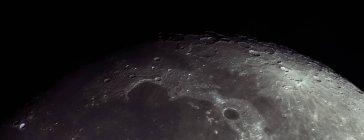 Полная Луна на небе — стоковое фото