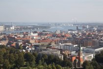 View from Aalborg Tower — Stock Photo