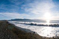 Красивый пейзаж зрения и горизонт — стоковое фото