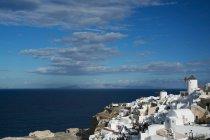 Griechische Architektur von Santorini — Stockfoto