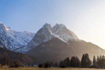 Paisaje de montaña Alpina - foto de stock