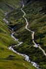 Bella catena montuosa paesaggio — Foto stock