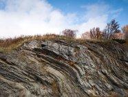 Vue de la roche en Norvège — Photo de stock
