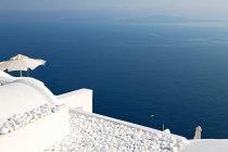 Architecture traditionnelle de Santorin — Photo de stock