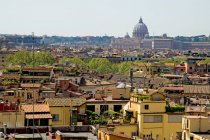 Cityscape with Rome old town — Stock Photo