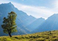 Montagne di alp bella, Baviera — Foto stock