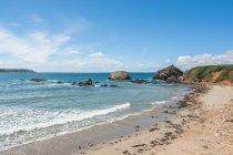Вид полуострова Crozon — стоковое фото