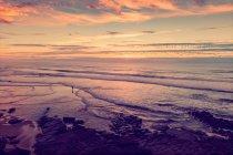Horizonte y vista del hermoso paisaje marino - foto de stock