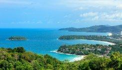 Littoral de l'océan et sandy — Photo de stock