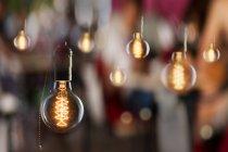Jahrgang Edison Typ Glühlampen — Stockfoto