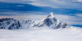 Ammaccatura d Eringer montagna — Foto stock