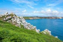 Ansicht der Crozon-Halbinsel — Stockfoto
