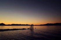 Lndscape naturel avec lac — Photo de stock