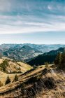 Beautiful alp mountains,bavaria — Stock Photo